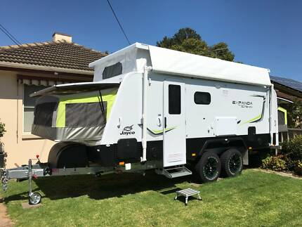 Jayco Expanda 2016 17.56.2 OB EX in as new condition with extra