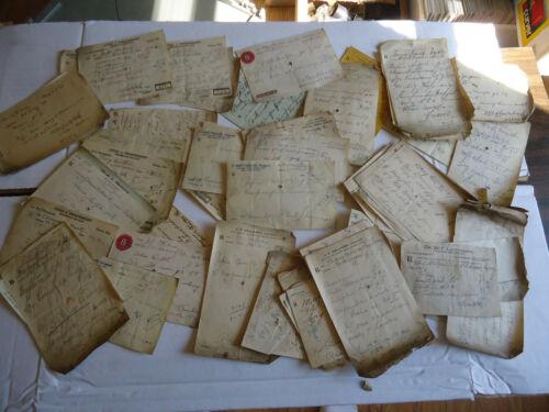 Vtg Drug store / Doctor prescription forms Pharmacist 1915-18 75+ pc lot