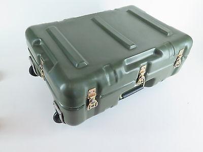 "Hardigg Mobile Case ID 19""x12""x7"" | ED 21""x16""x8"" Olive Green Waterproof foam"