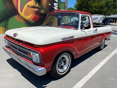 1962 Ford F-100  1962 FORD F100 PICK UP RARE  UNIBODY SHORT BED CLEAN  SOLID TRUCK NO RESERVE !!
