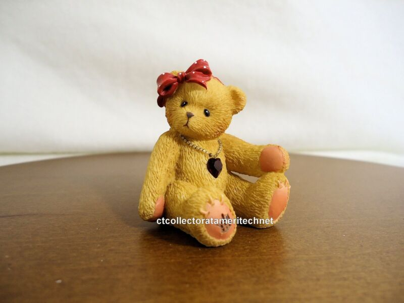 Cherished Teddies Little Sparkles July Bear 2003 NIB