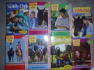 Saddle Club Books, Horse Books Lisarow Gosford Area Preview