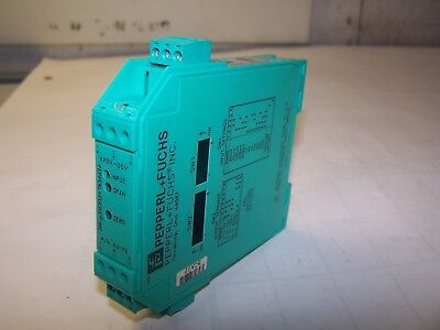 Pepperl Fuchs Dc Input Field Configurable Isolator Module Kfdx-dcv