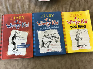 Diary of a Wimpy Kid series - 1-3
