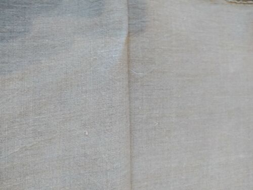 8 yards Antique Linen Flax Material Fabric VIntage Rustic Natural Organic