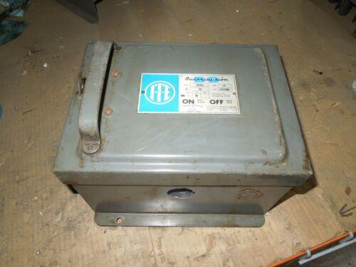 Ite Bp452 60a 3ph 4w 277/480v Fusible Cover Operated Bus Plug Used E-ok