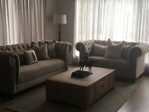Living and dining room furniture package