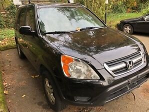 2003 Honda CRV EX-L ,clean, bc car, low kms, Ready for winter