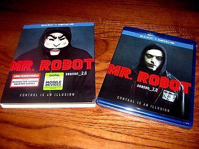 Mr  Robot  Season 2  Blu Ray   Digital Hd    Brand New  Sealed   I Ship Faster