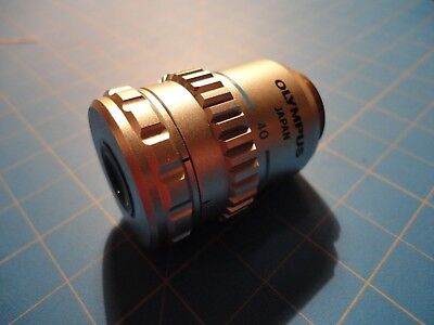 Olympus Ulwd Cdplan 40x 0.5 Na 1600-2 Tl Phase Contract Microscope Objective