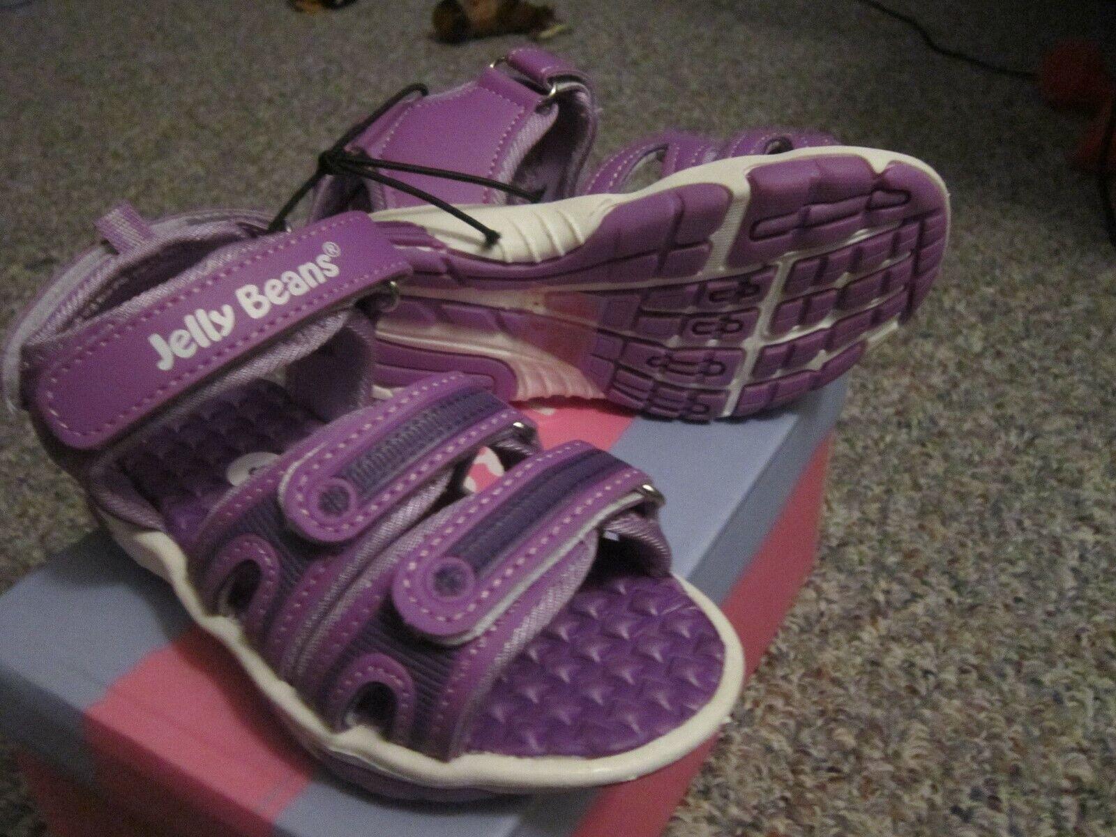 Jelly Beans Purple Sandals Size 9