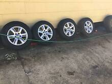 Volkswagen tyre and rims St Clair Penrith Area Preview