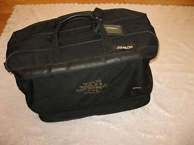 Athalon Hand Carry Gear Duffel Bag EVERYTHING Black NO SHOULDER STRAP 24x14x16