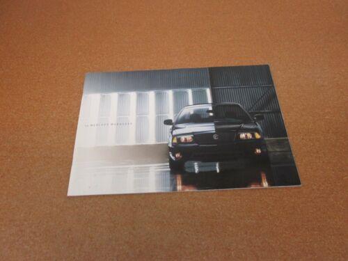 2003 Mercury Marauder sales brochure literature BIG 24 pg ORIGINAL