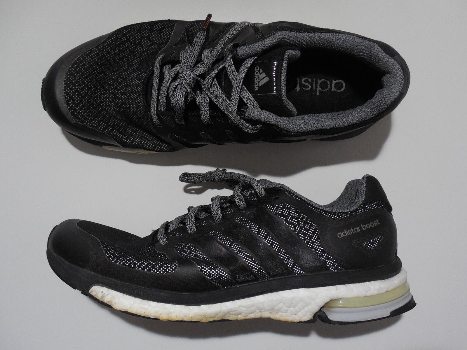 Adidas Adistar Boost M Glow schwarz weiß Herren Laufschuhe Running NEU