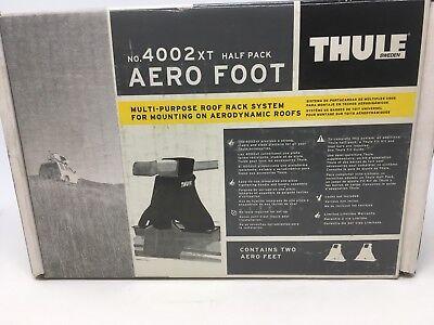 """THULE 4002xt Aero Foot """"Half Pack"""" NEW IN BOX"""