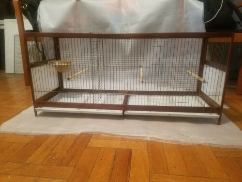 wood breeding cage for finches
