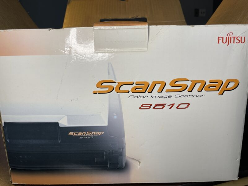 Fujitsu ScanSnap S510 Flatbed Scanner