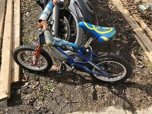 Child's bike for I think 3 to 6 years old