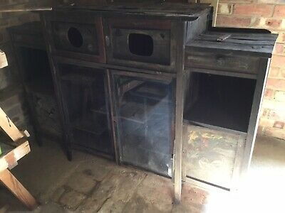 Antique 'Chinese' Cabinet - Mahogany And Rosewood - Spares & Repairs