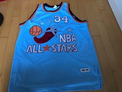 #34 NBA 1996 All Star Jersey Throwback Retro Stitched SZ 56