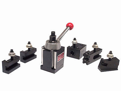 Holiday Sale Bostar Axa Wedge Type Quick Change Tool Post For Lathe 6-12