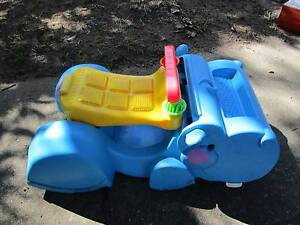 Fisher Price Ride On/Push Along Hippo (Hardly Used) Campbell North Canberra Preview
