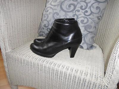 Tamaris Damen Leder Stiefeletten High Heel Größe 36 TOP