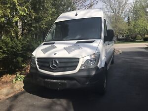 2015 Mercedes sprinter 2500 with 4 cylinder 2.1 litre engine