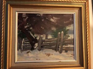 Langley Thomas Donges Oil Painting