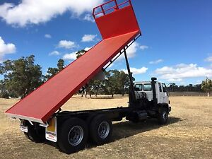 Tipping tray Isuzu FVZ 1400 6x4 and grain bin Bridgetown Bridgetown Area Preview