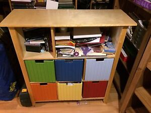 Toy Storage Unit (CafeKid brand from Costco) Shelving
