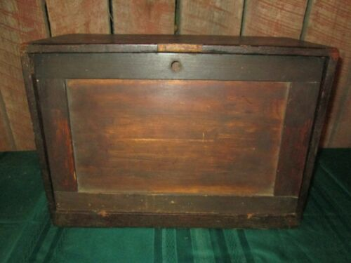 Antique Vintage Unique Handmade Wood tool Box Cigar box drawers