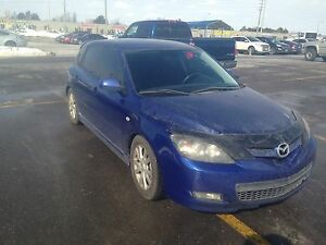 07 Mazda3 Hatchback. Lowered. Safety. Etest.