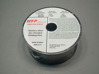 2 Lb Spool .035 Er308l Er308 Stainless Steel Mig Welding Wire Htp Quality