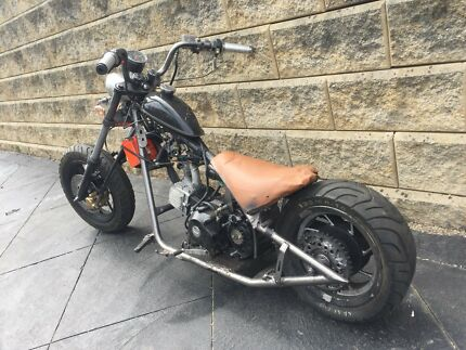 Custom mini 125cc chopper