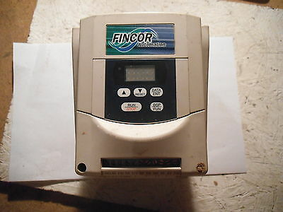 Fincor 106702007 Ac Drive Inverter 13 Hp 230v 15 A
