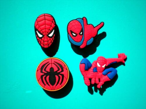 Clog Shoe Plug Button Charm Fit WristBand Spiderman Fit Accessory