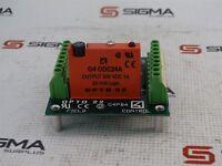 Opto 22 G4PB4 Field Control w/ G4 ODC24A Output Module 200VDC 1A