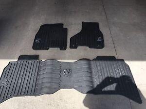 2014 Ram 1500 Crew heavy rubber floor mats