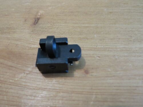 """US M1 CARBINE REAR SIGHT IBM EARLY MARKED """"IN-B""""."""