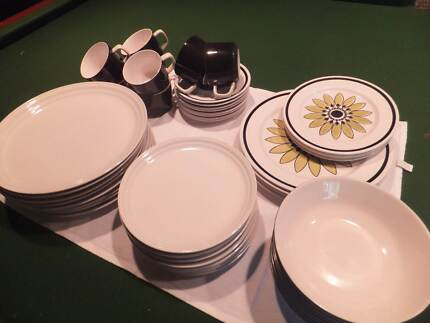 Mikasa dinner plates, coupes side plates,cups & saucers Denistone Ryde Area Preview