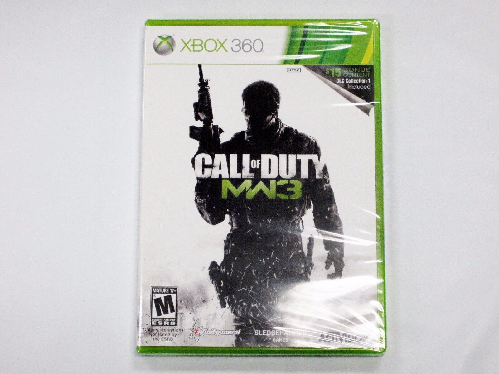 Xbox 360 Games - Call of Duty Modern Warfare 3 With DLC COLLECTION - XBOX 360 New Sealed USA