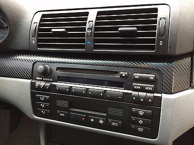 Carbon Fiber Look Interior Dash, Door and Shift Trim Kit fits BMW E46 sedan - Carbon Fiber Look Dash
