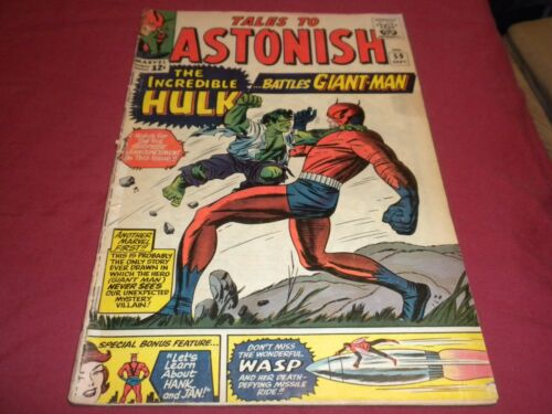 KA1 Tales to Astonish #59 marvel 1964 silver age 3.0/gd/vg comic! (Qualified)