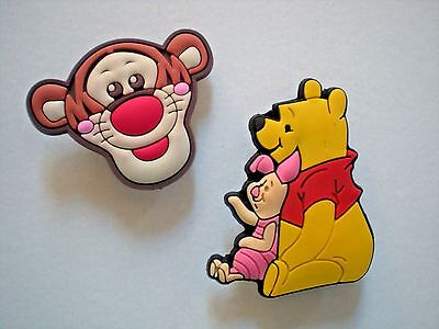 Jibbitz Croc Clog Shoe Button Plug Charm Accessories Bracelet Winnie Pooh Tigger