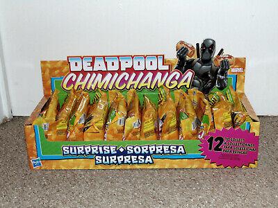 Hasbro Deadpool Chimichanga Surprise Order 2 Case of 12 Brand New Blind Bags