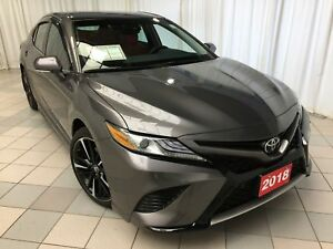 2018 Toyota Camry XSE: Back up camera, Entune