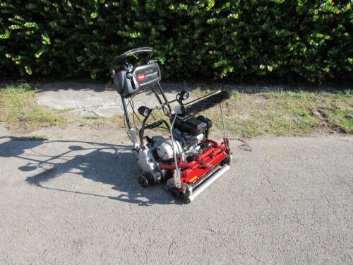 "2015 Toro Greensmaster Flex 2120 Greens Reel Lawn Mower 21"" Cut # 04044 & Basket"