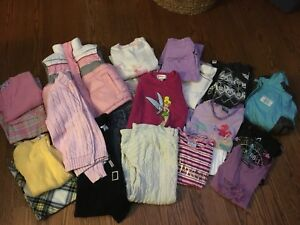 Bag of girl's size 5 winter clothing